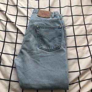 Levis 501 Distressed Jeans